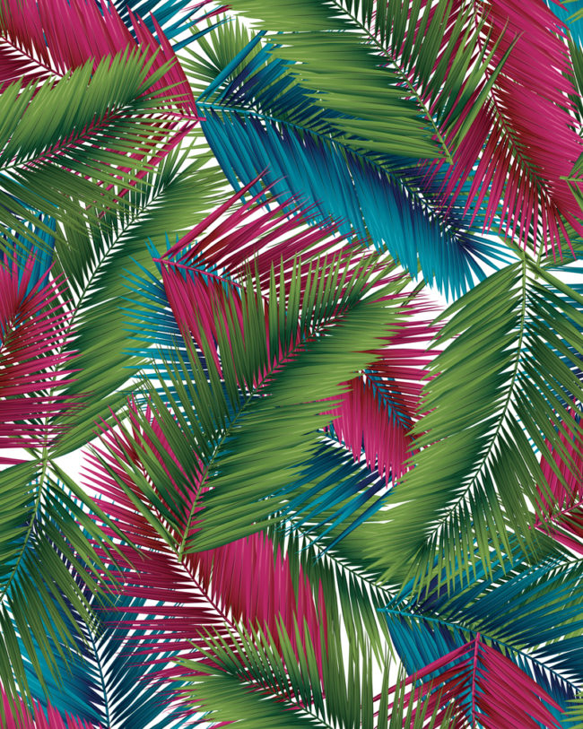 Cali Palm Leaves Repeating Wellfleet Designs